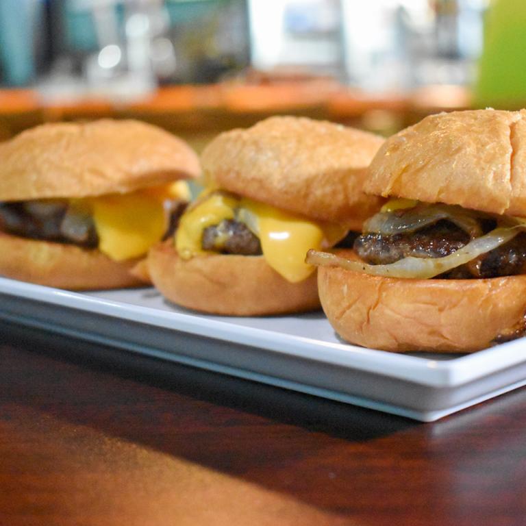 Bayside Grille Fort Myers Beach Restaurant Cheeseburger Sliders