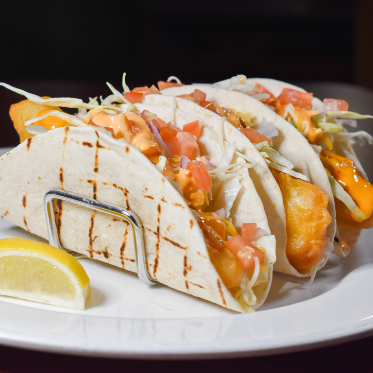 Bayside Grille Fort Myers Beach Restaurant Fish Tacos