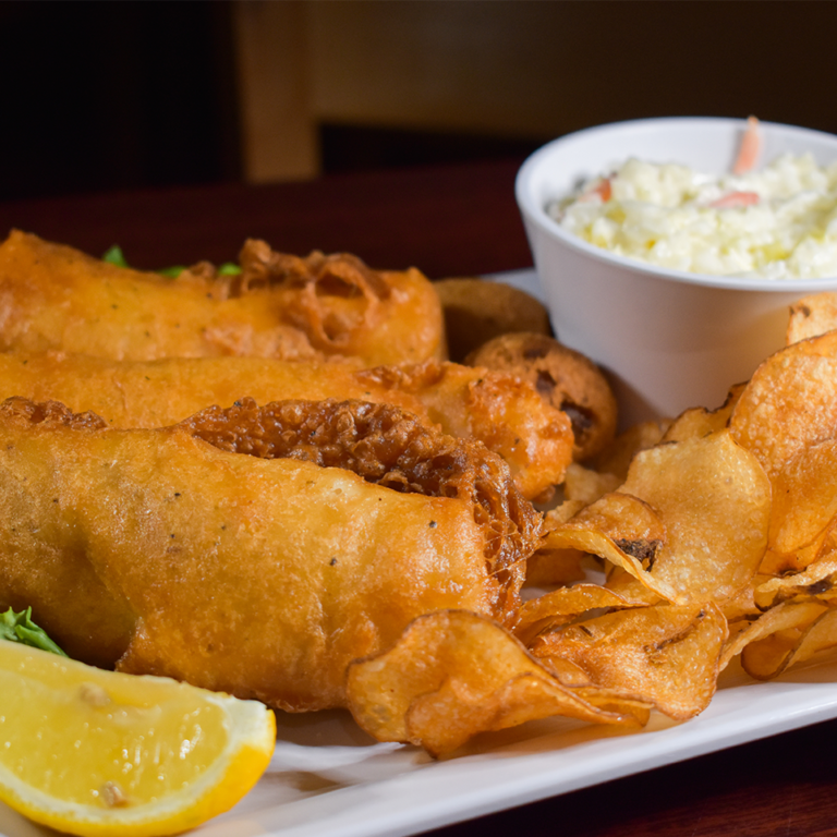 Bayside Grille Fort Myers Beach Restaurant Fish and Chips