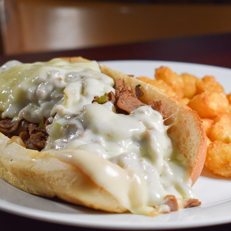 Bayside Grille Fort Myers Beach Restaurant Philly Cheese Steak
