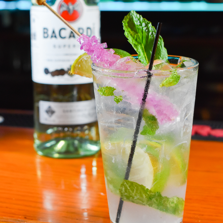 Bayside Grille Fort Myers Beach Restaurant Rock Candy Mojito